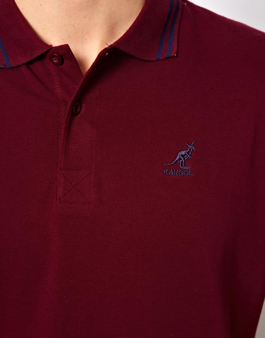 a96d9501 Kangol Polo Shirt in Red for Men - Lyst