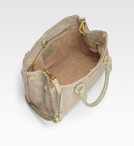 Prada Bag Beige Bag in Beige Prada Madras