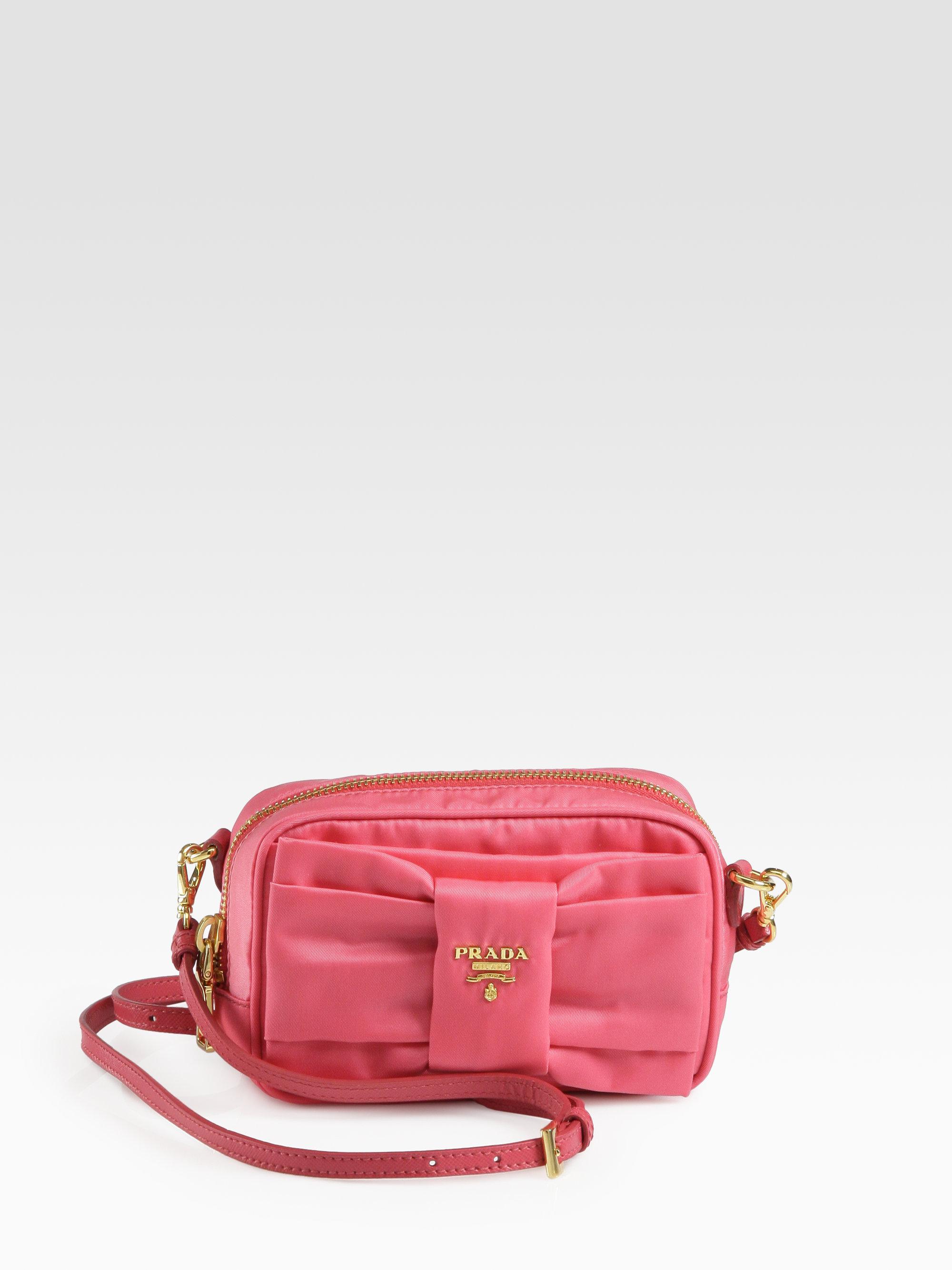 a19cf50e48c ... switzerland prada nylon backpack pink 3f060 164c8
