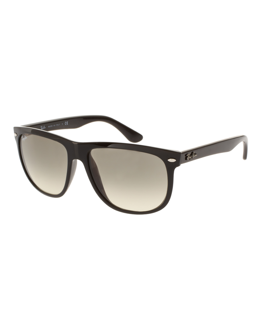 ray ban rayban flat brow wayfarer sunglasses in black for men lyst. Black Bedroom Furniture Sets. Home Design Ideas