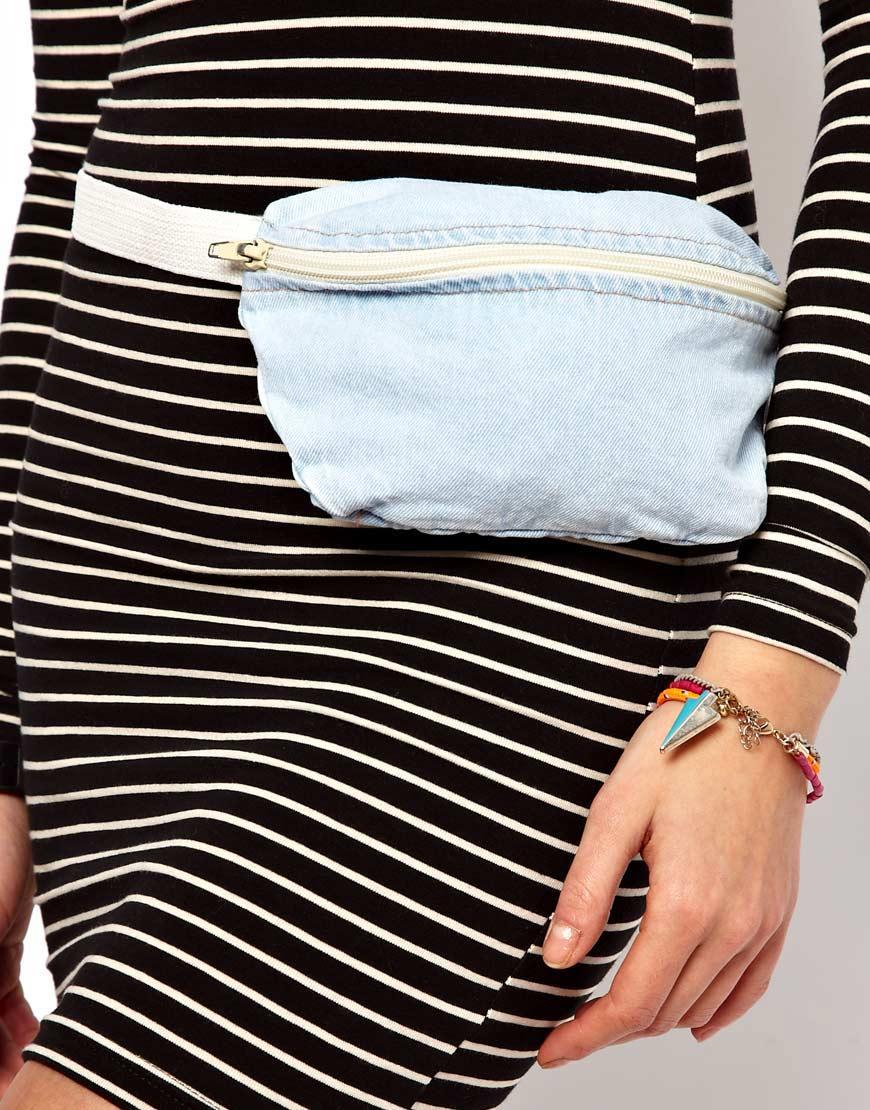 Louis Vuitton Blue Denim Monogram Denim Bum Bag - Yoogis