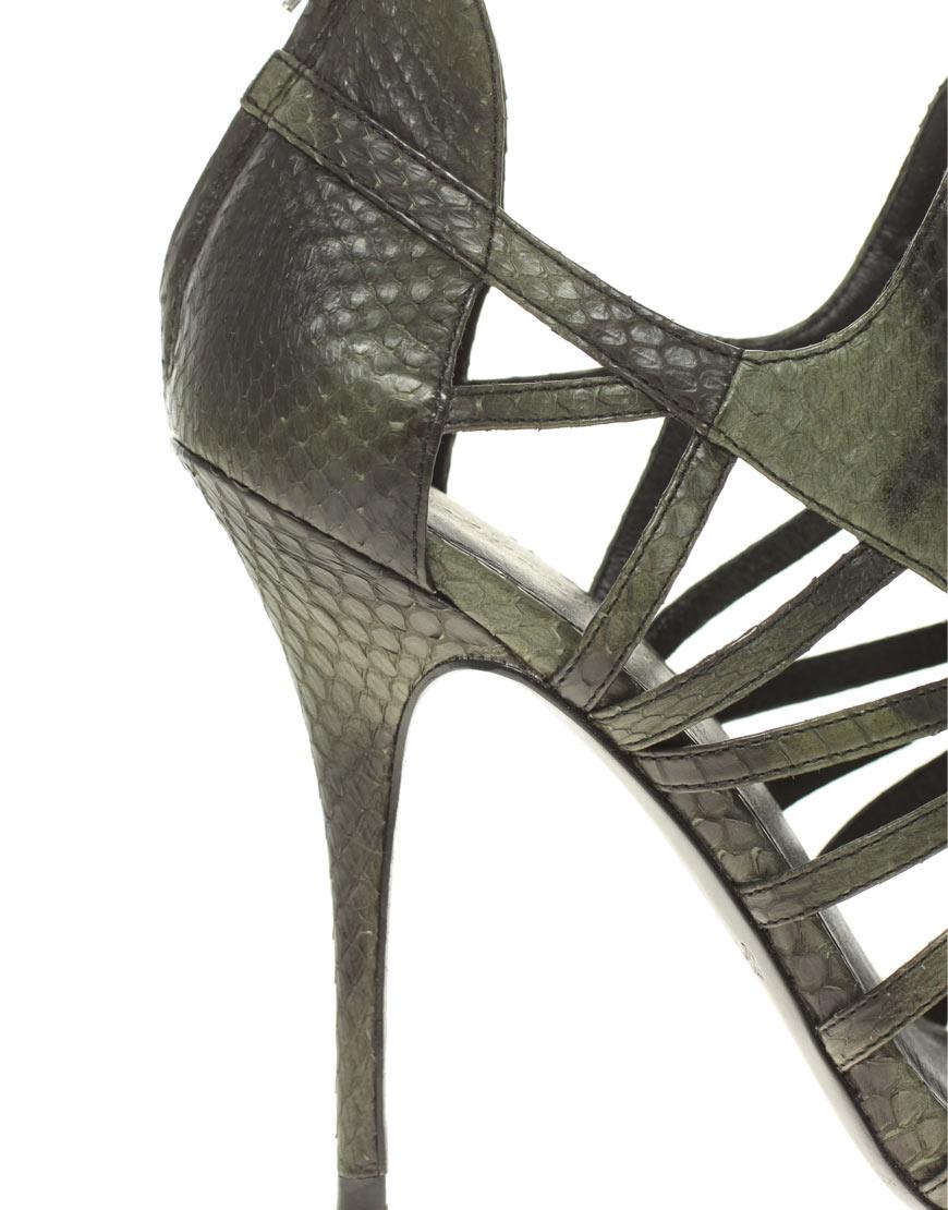 Lyst - Elizabeth And James Lunge Caged Heeled Sandal