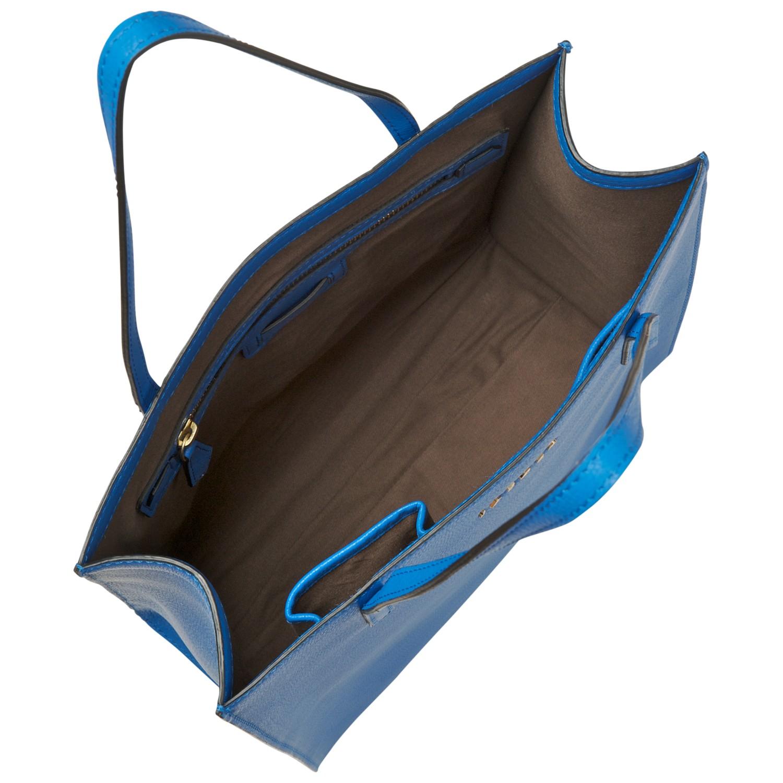 Jaeger Jennifer Tote Handbag in Blue