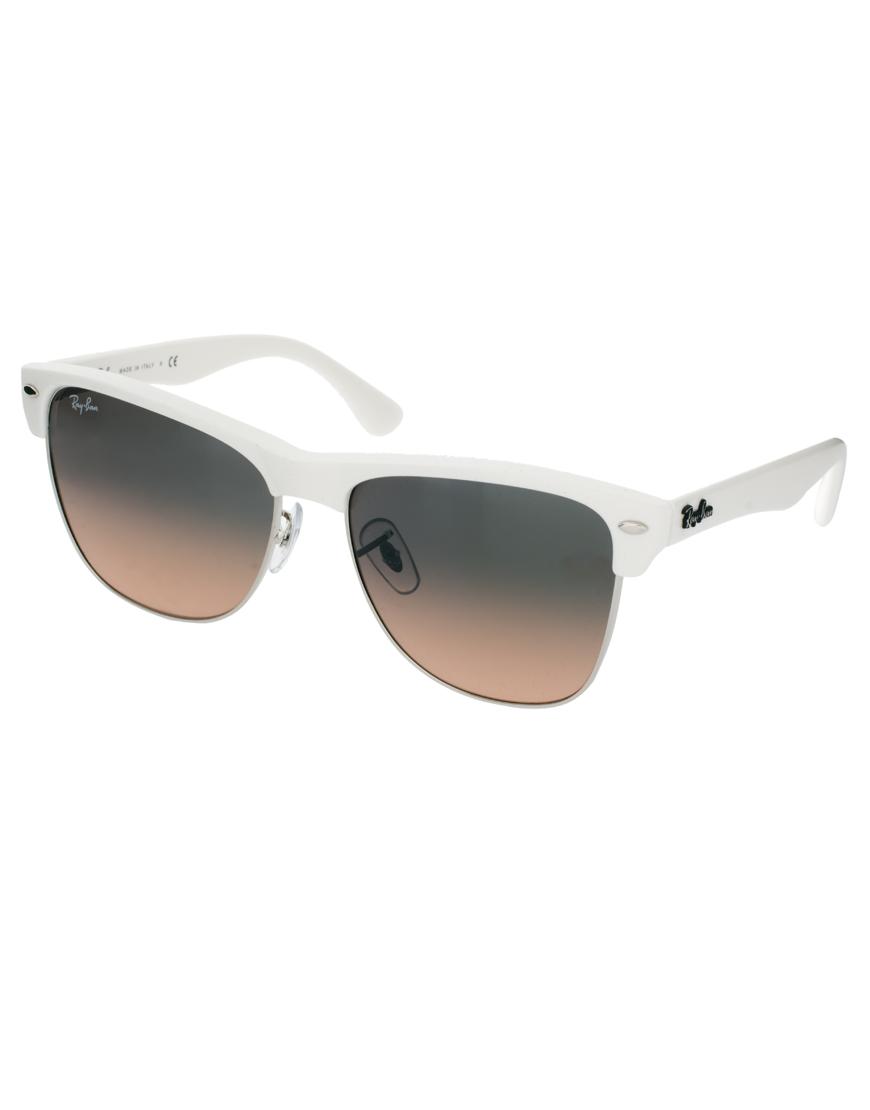 ray ban style sunglasses white
