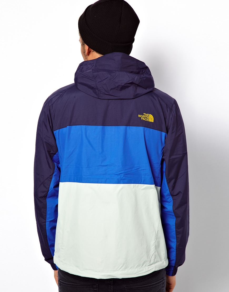 A9b74 And North Jacket Amazon Blue C1db9 Face White 0azx7qw