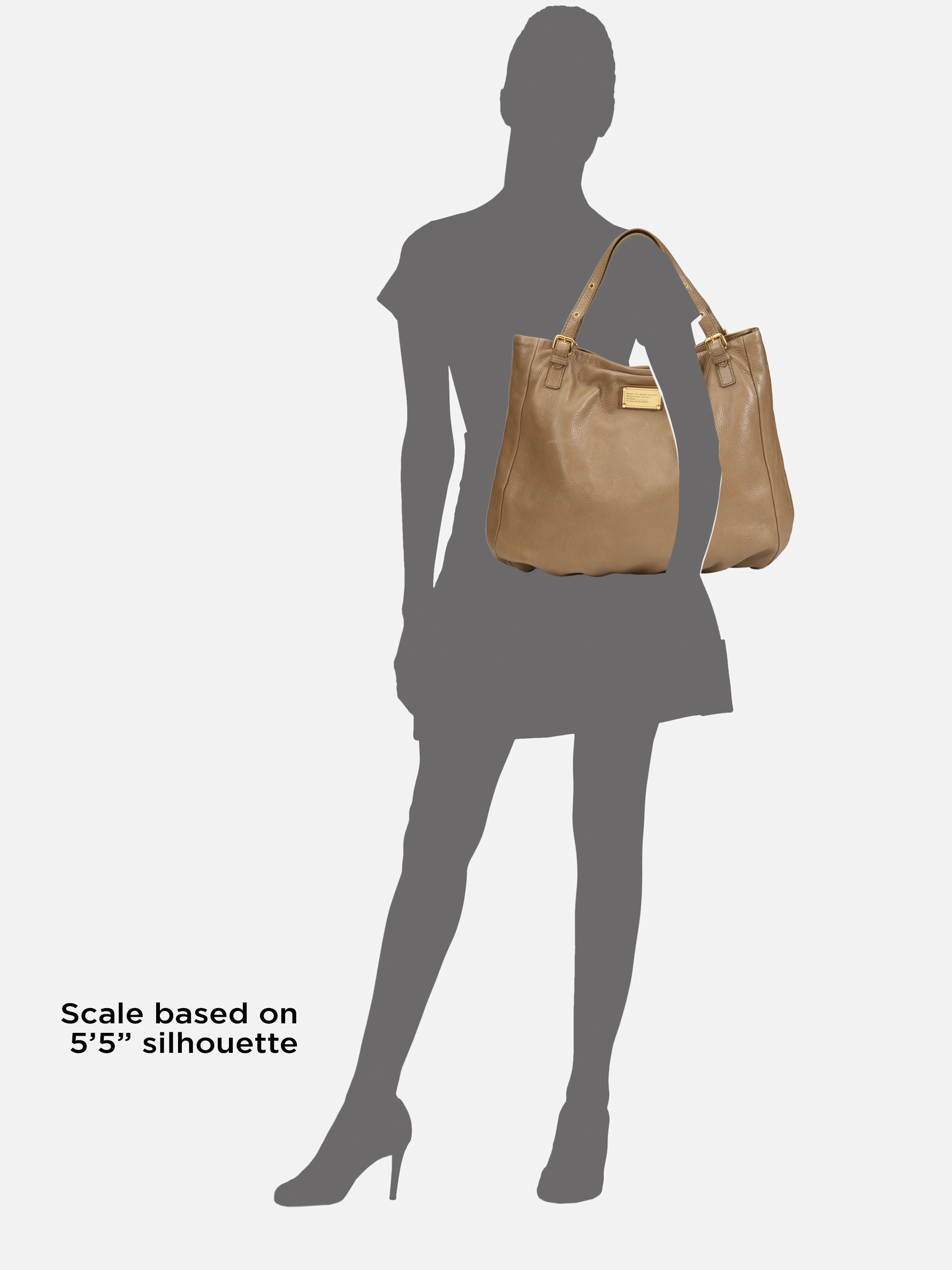 e6b472bb8fd Marc By Marc Jacobs Classic Q Shop Girl Tote in Brown - Lyst