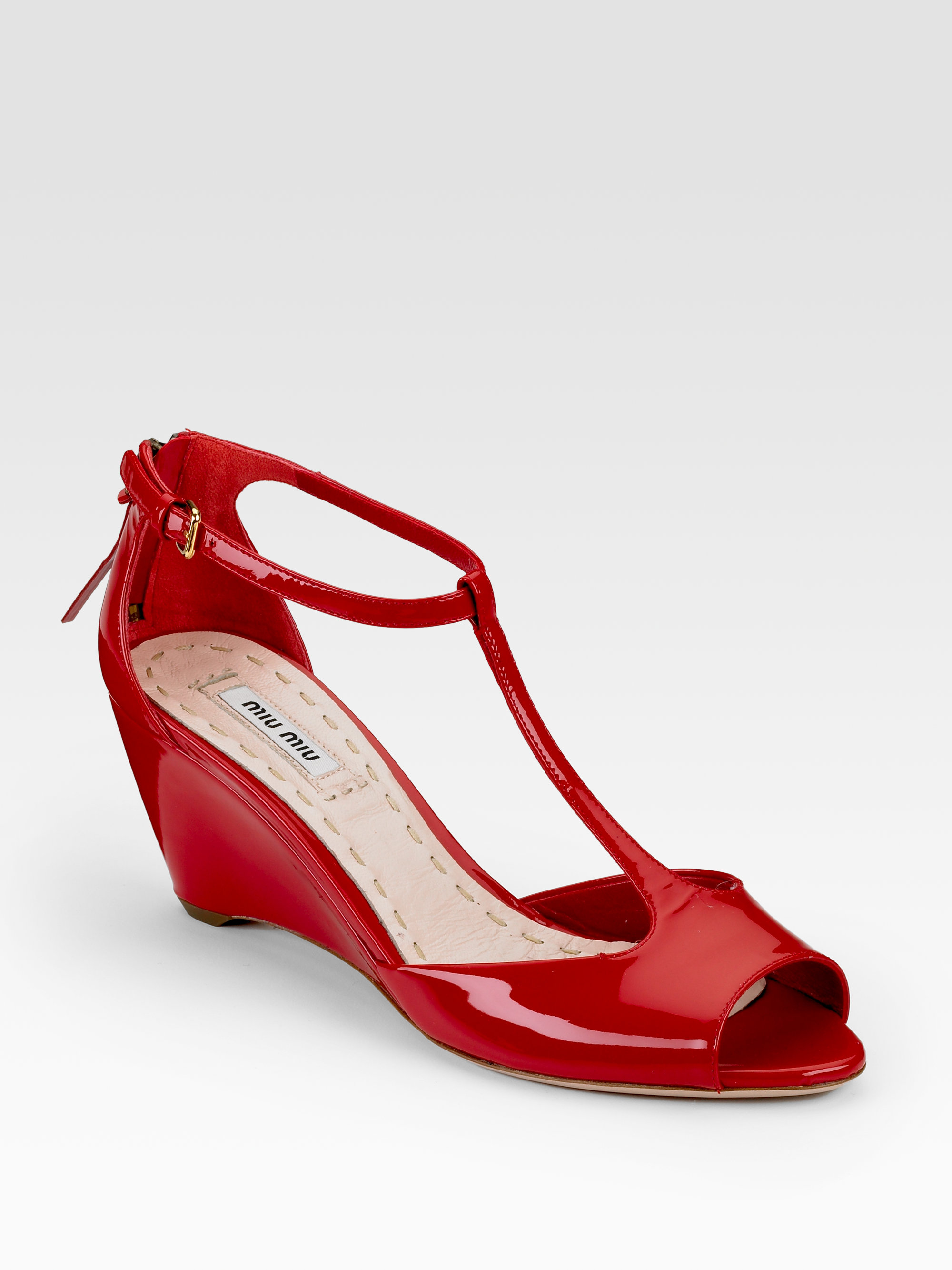 Red Patent Leather Wedges with FREE Shipping & Exchanges, and a % price guarantee. Choose from a huge selection of Red Patent Leather Wedges styles.