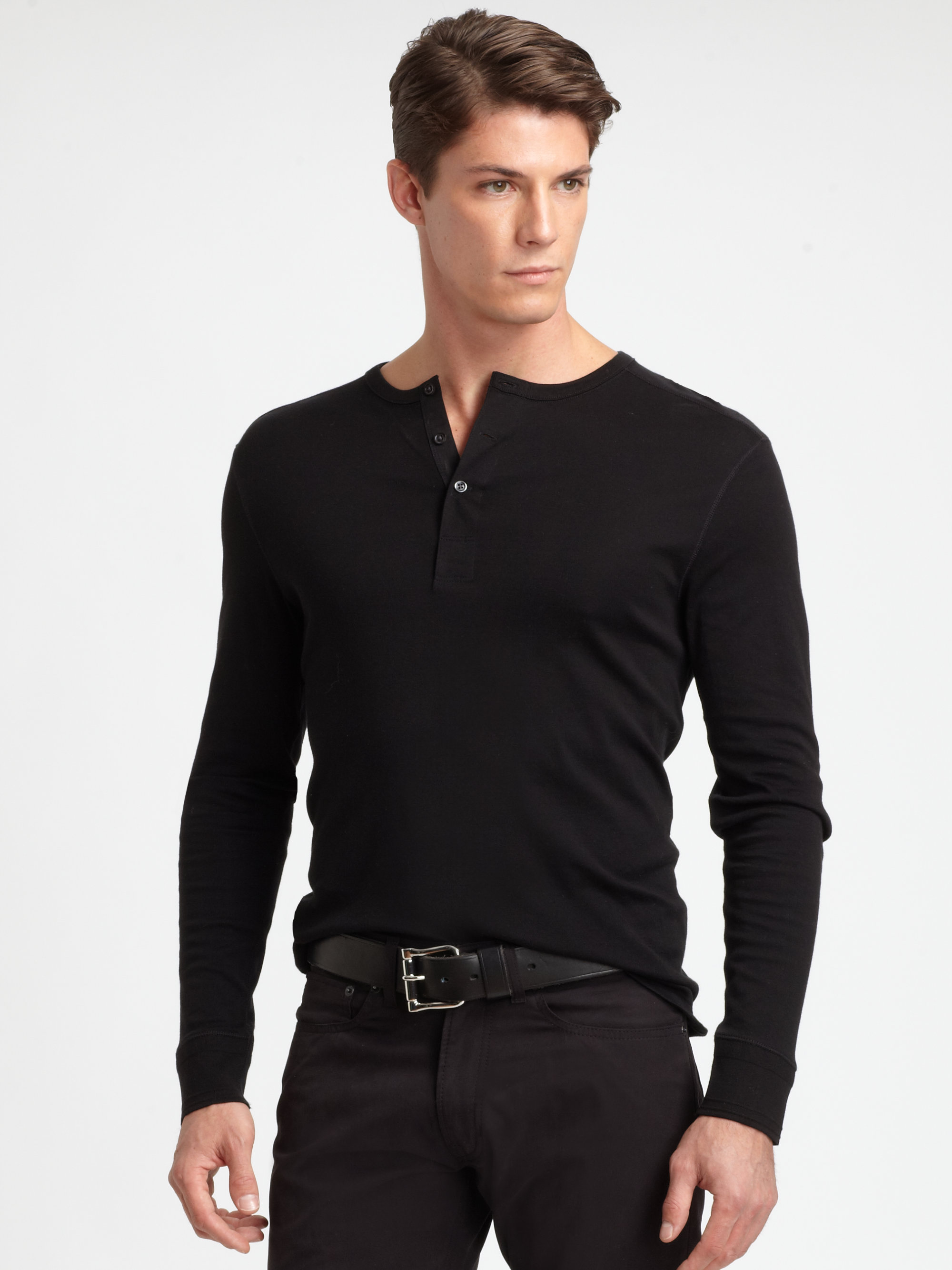 Shop online for Men's Henley Long Sleeve & T-Shirts at hereuloadu5.ga Find cotton, linen & knit blends. Free Shipping. Free Returns. All the time.