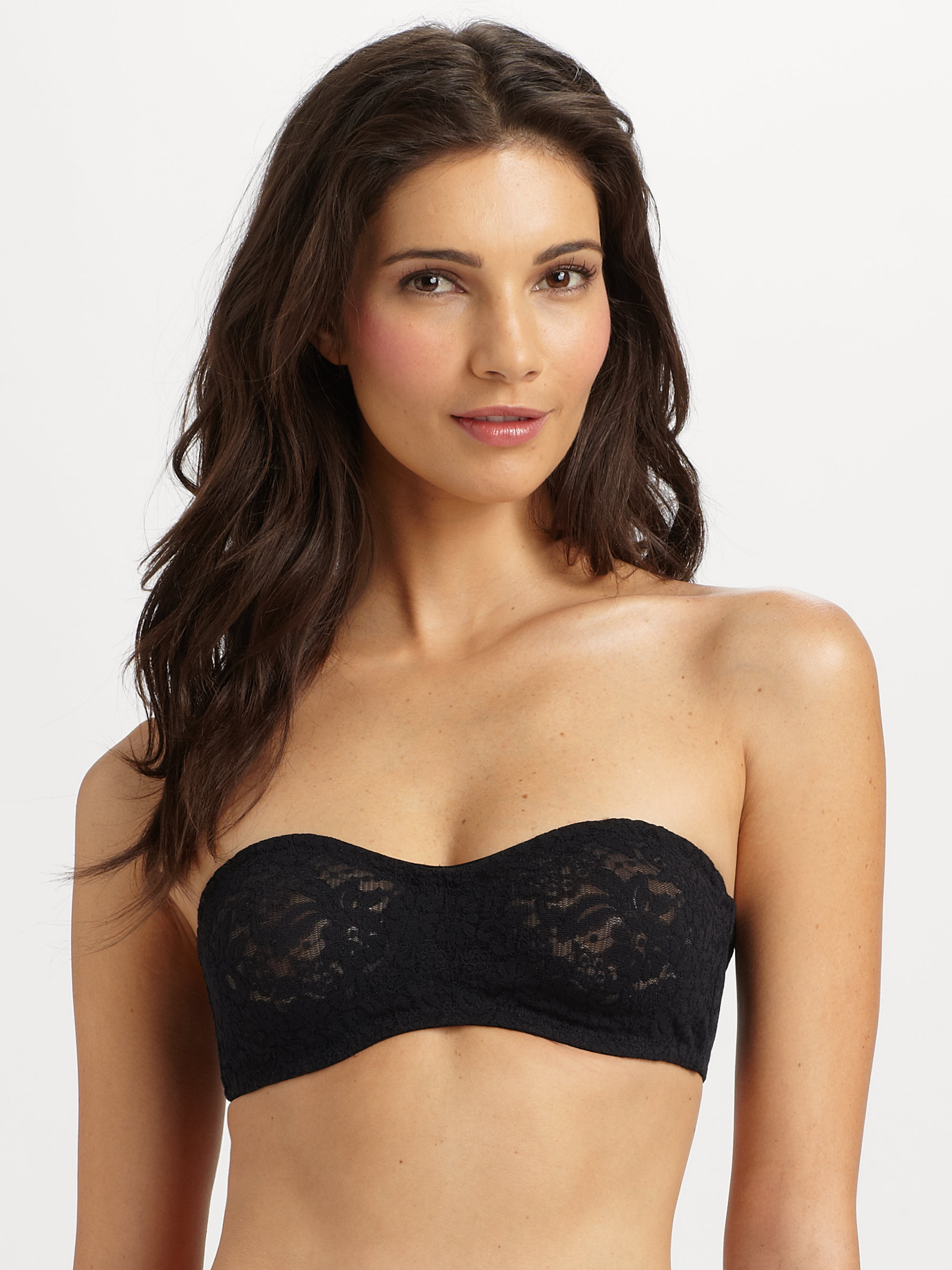 e78008e02f Lyst - Wacoal Halo Moulded Strapless Bra in Black