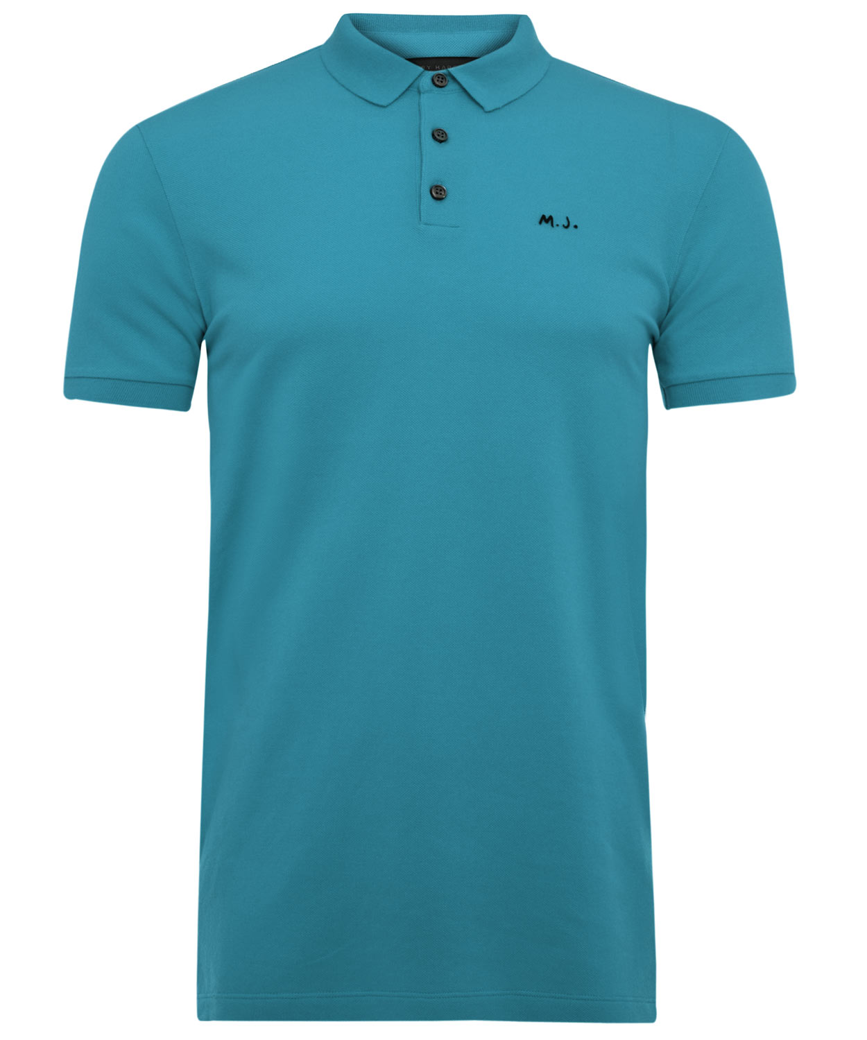 Marc by marc jacobs teal blue mj polo shirt in blue for for Mens teal polo shirt