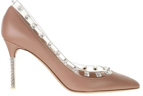 Valentino Pumps in Brown (transparent)
