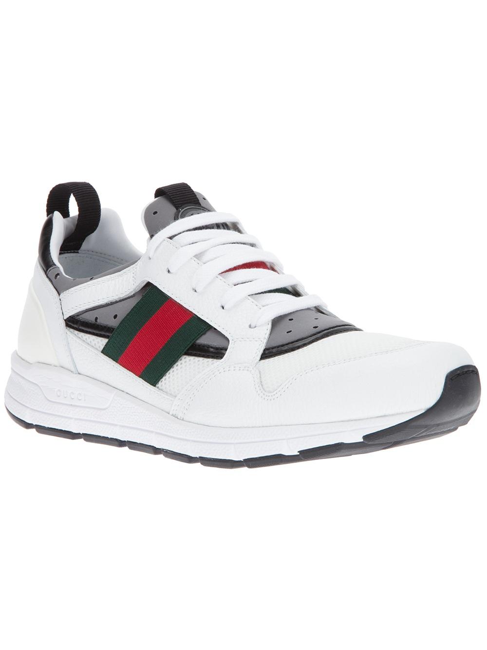 gucci white trainers
