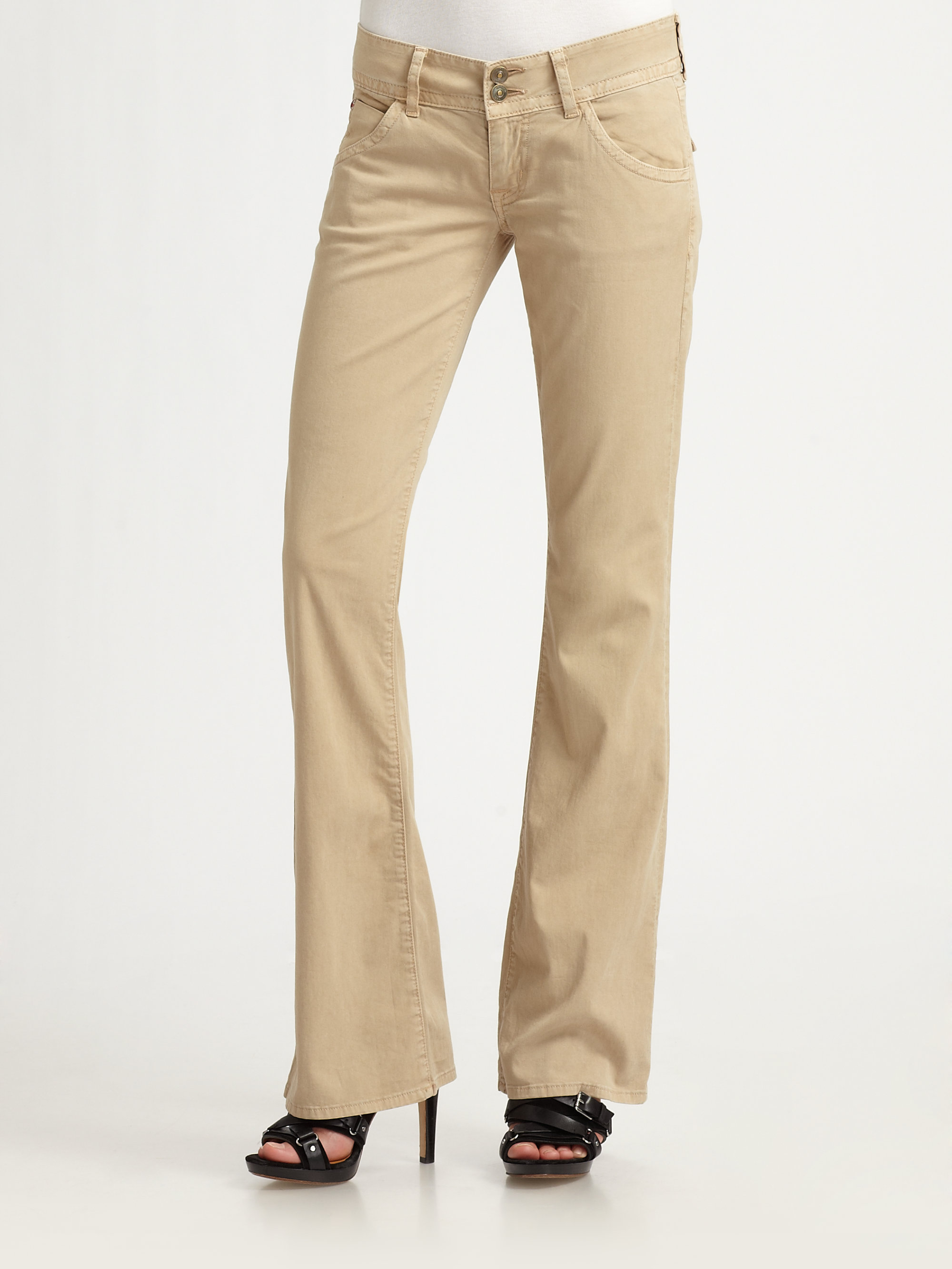 Hudson Jeans Signature Bootcut In Natural Lyst