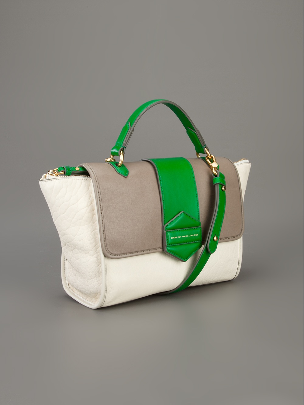 Marc By Marc Jacobs Flipping Out Tote Bag in White