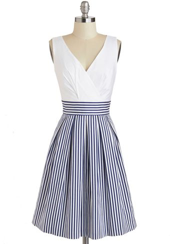 ModCloth Oceanfront Properly Dress - Lyst