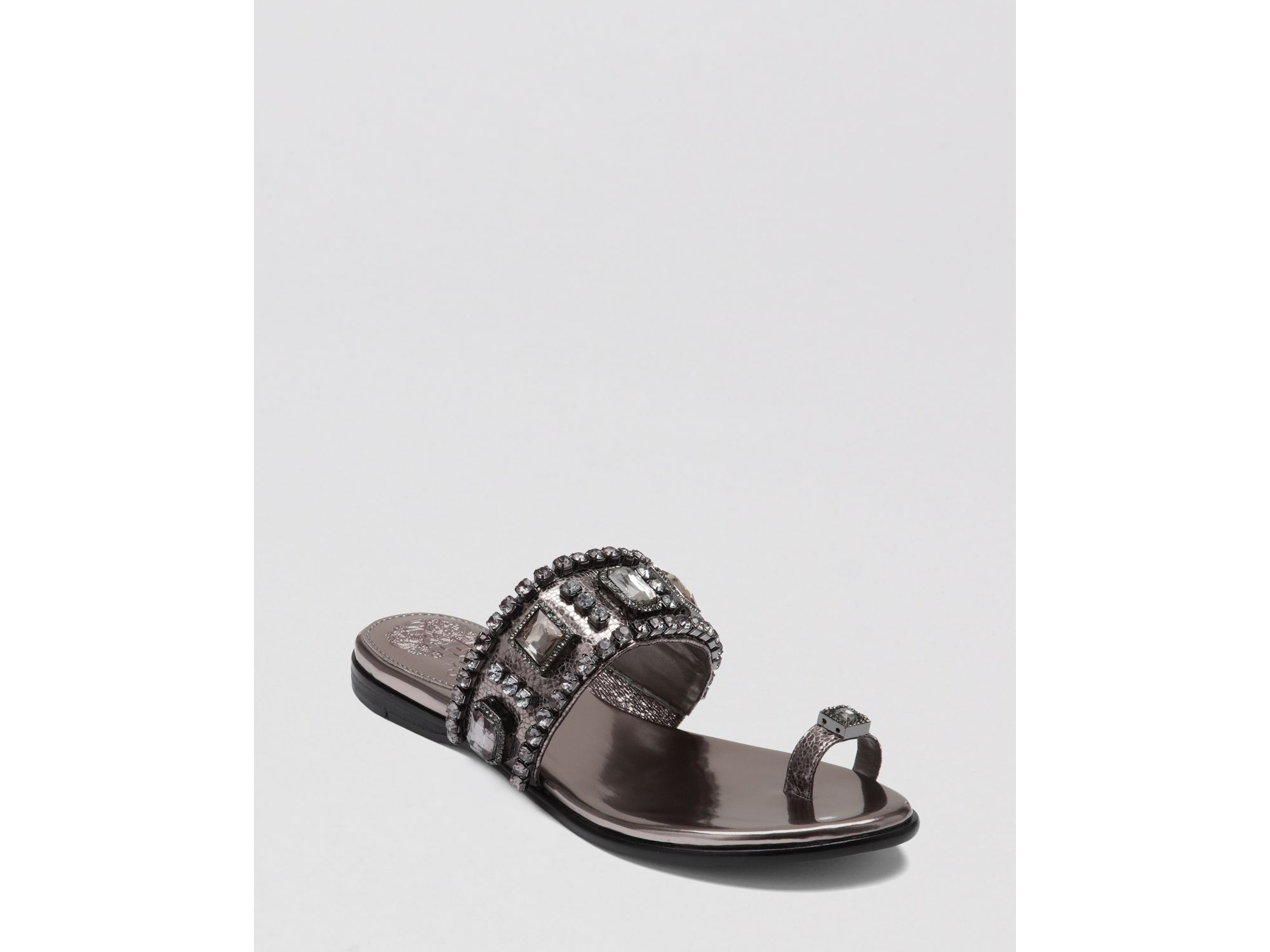 Vince Camuto Rhinestone Ring Sandals
