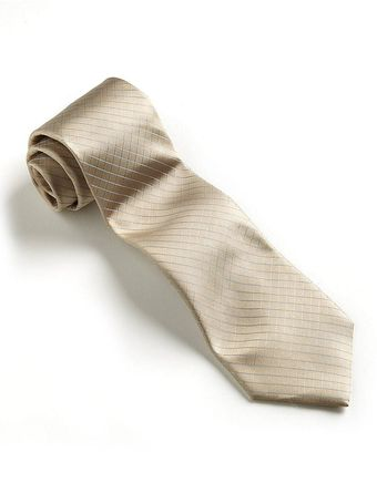Calvin Klein Diamondpatterned Silk Tie Set - Lyst