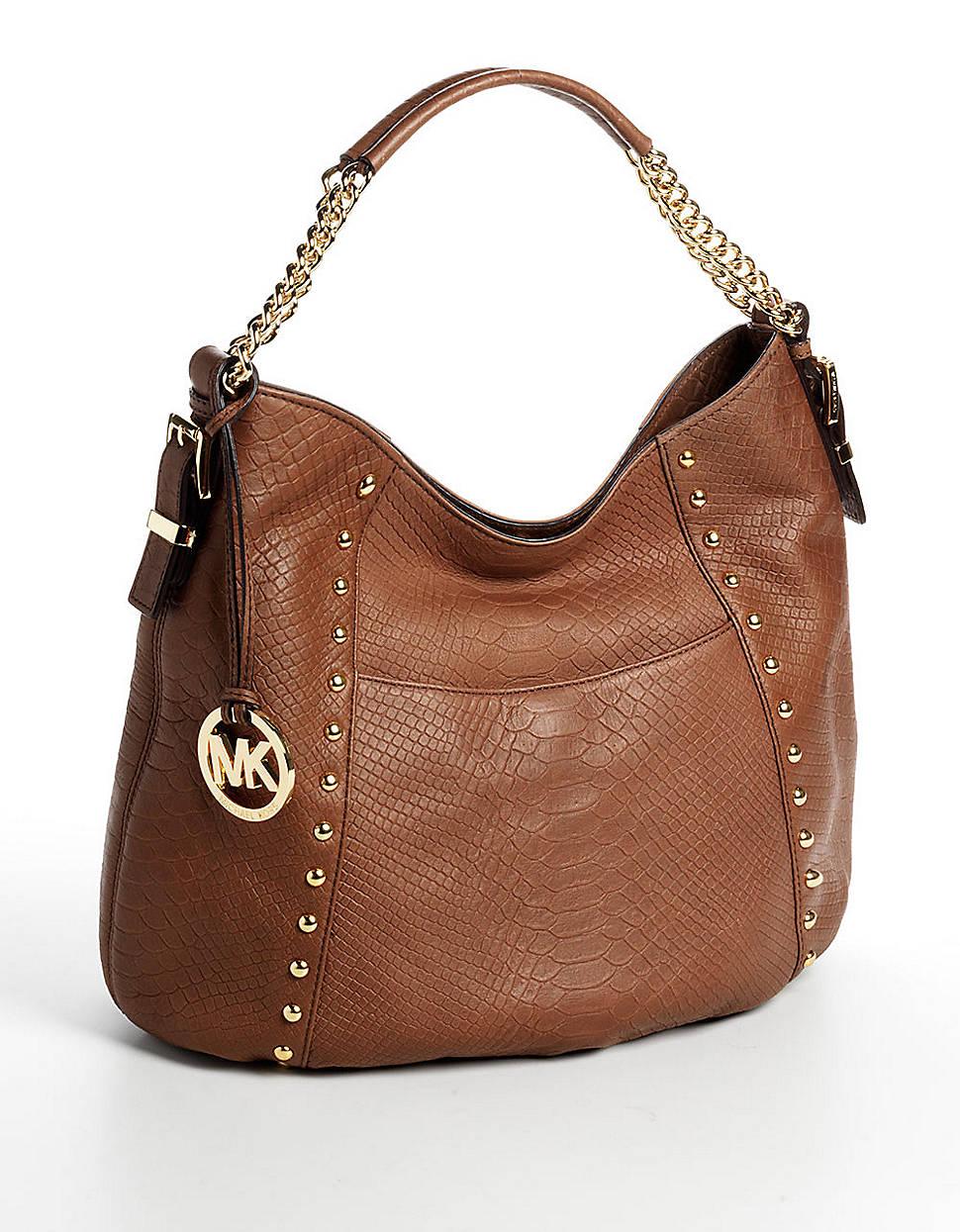 Michael Michael Kors Middleton Medium Leather Shoulder Bag 54