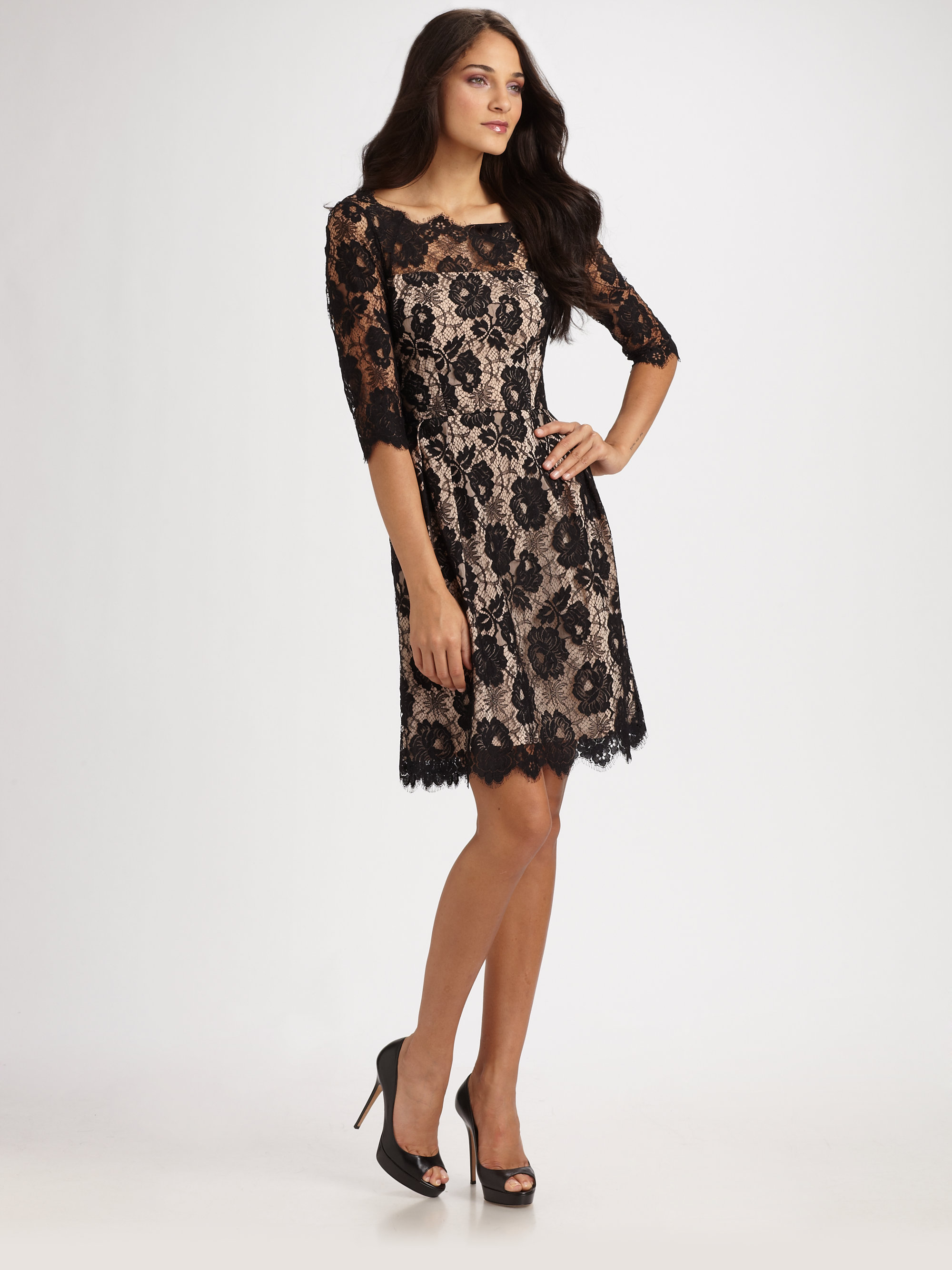 Chandelier lace dress