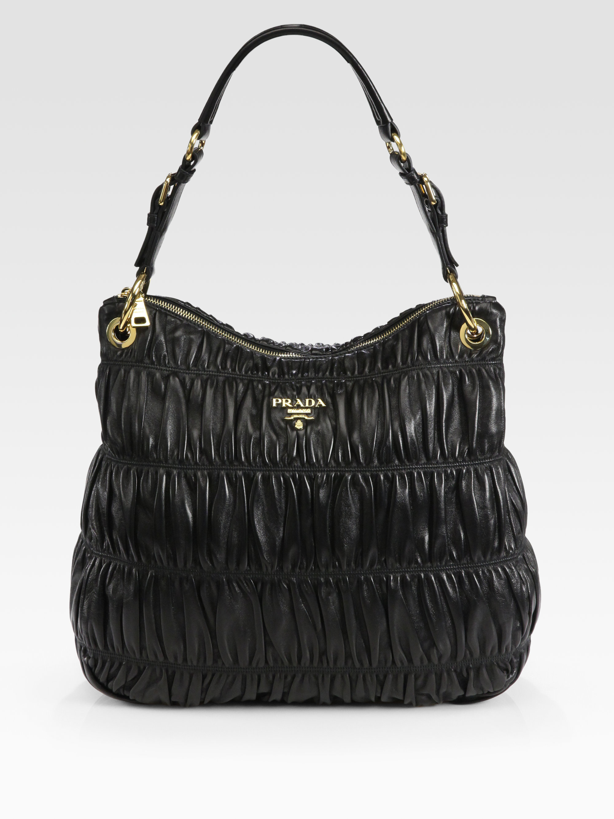 pranda bag - prada nappa bucket bag, prada multicolor purse