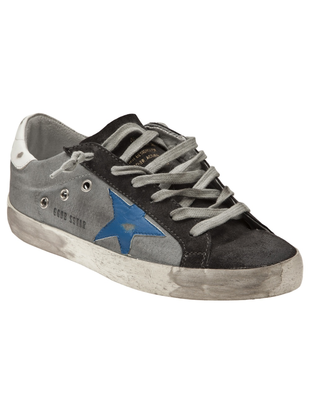 Golden goose deluxe brand Superstar Sneakers in Black | Lyst