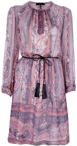 Isabel Marant Sofia Paisley Dress - Lyst