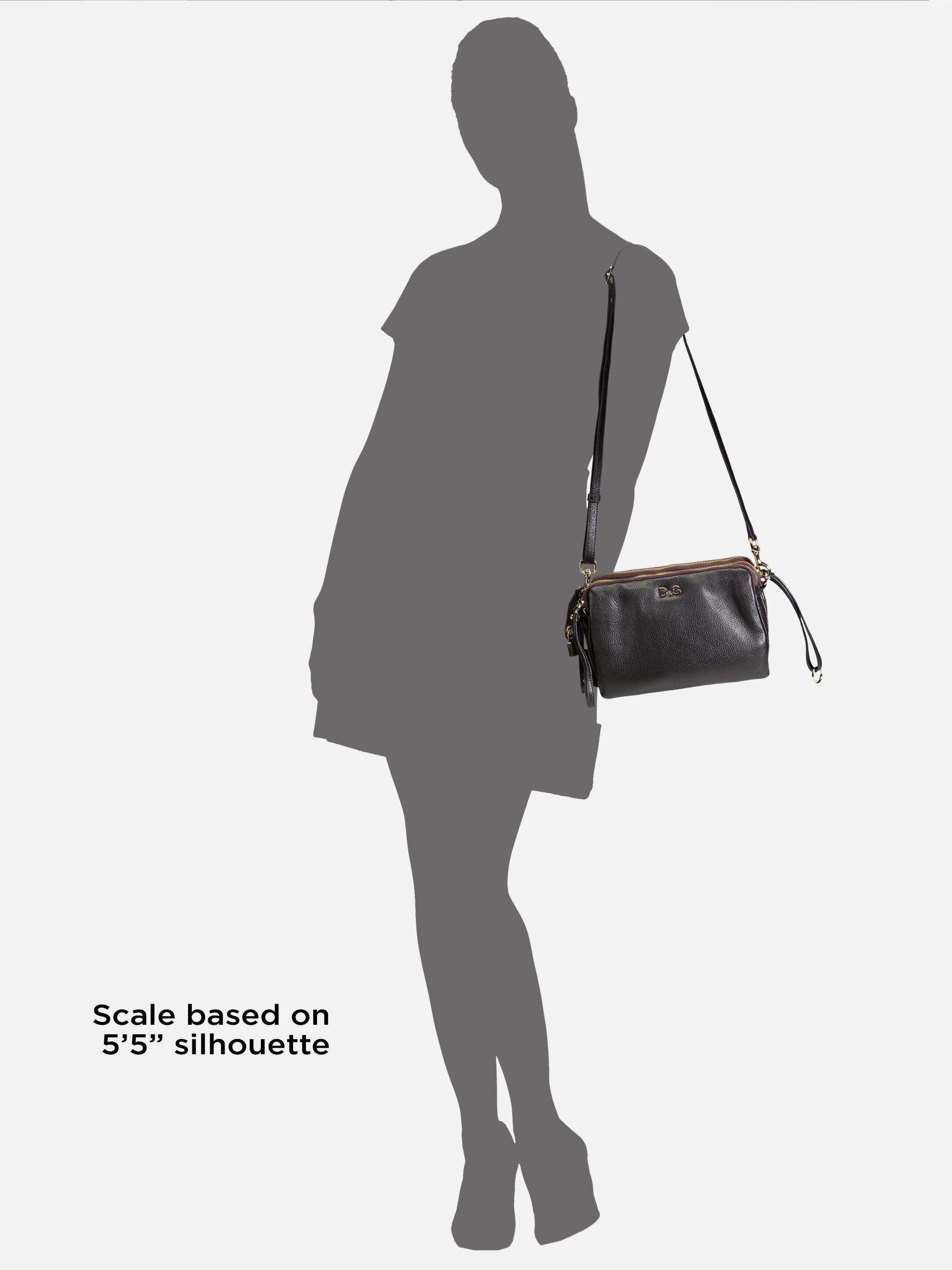 29f8464497 Lyst - Dolce   Gabbana Lily Twist Crossbody Bag in Black