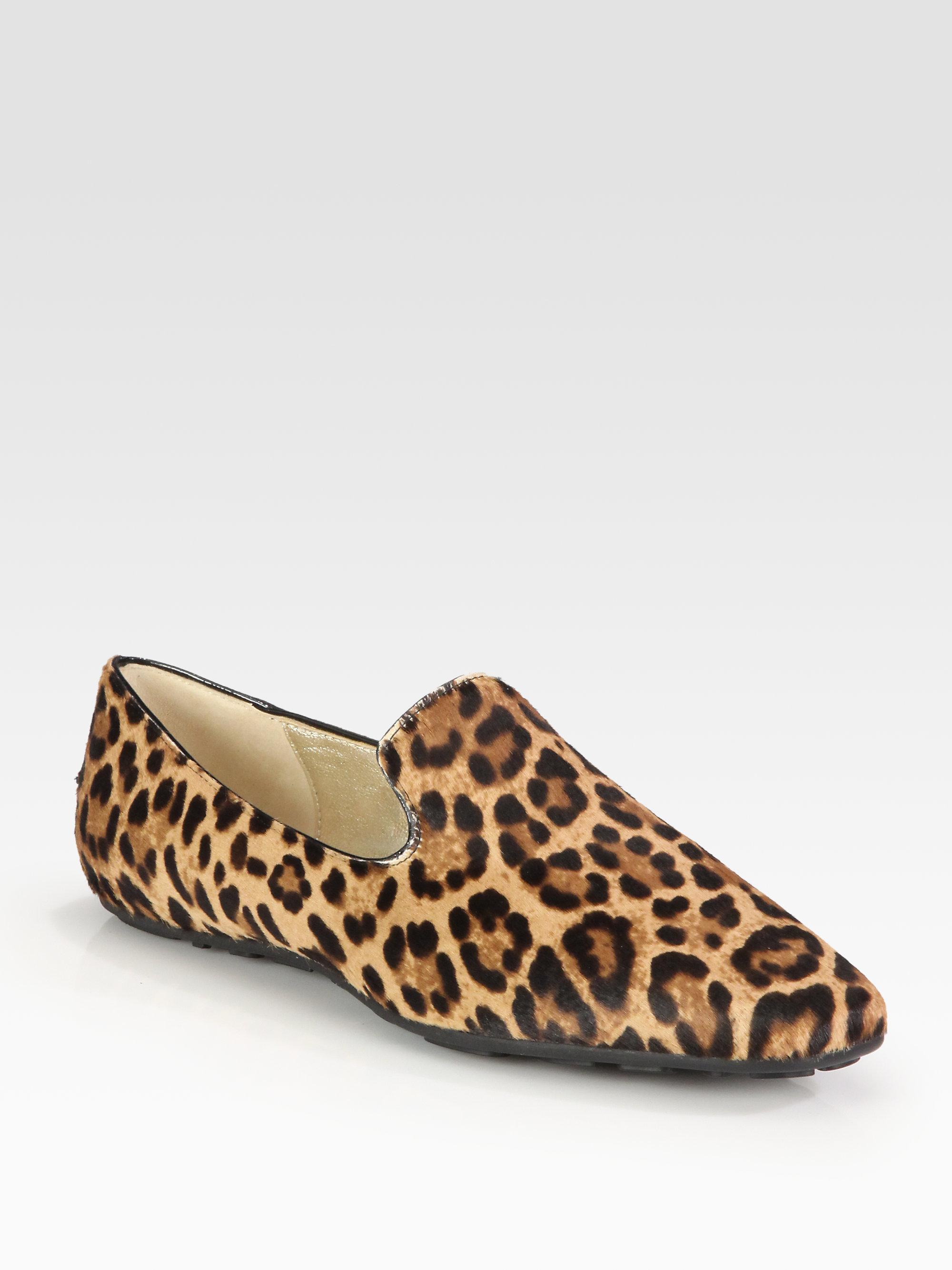 Jimmy Choo Leopard Ponyhair Loafers cheap sale visit sJUCEM