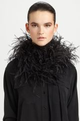 Maison Martin Margiela Feather Down Scarf