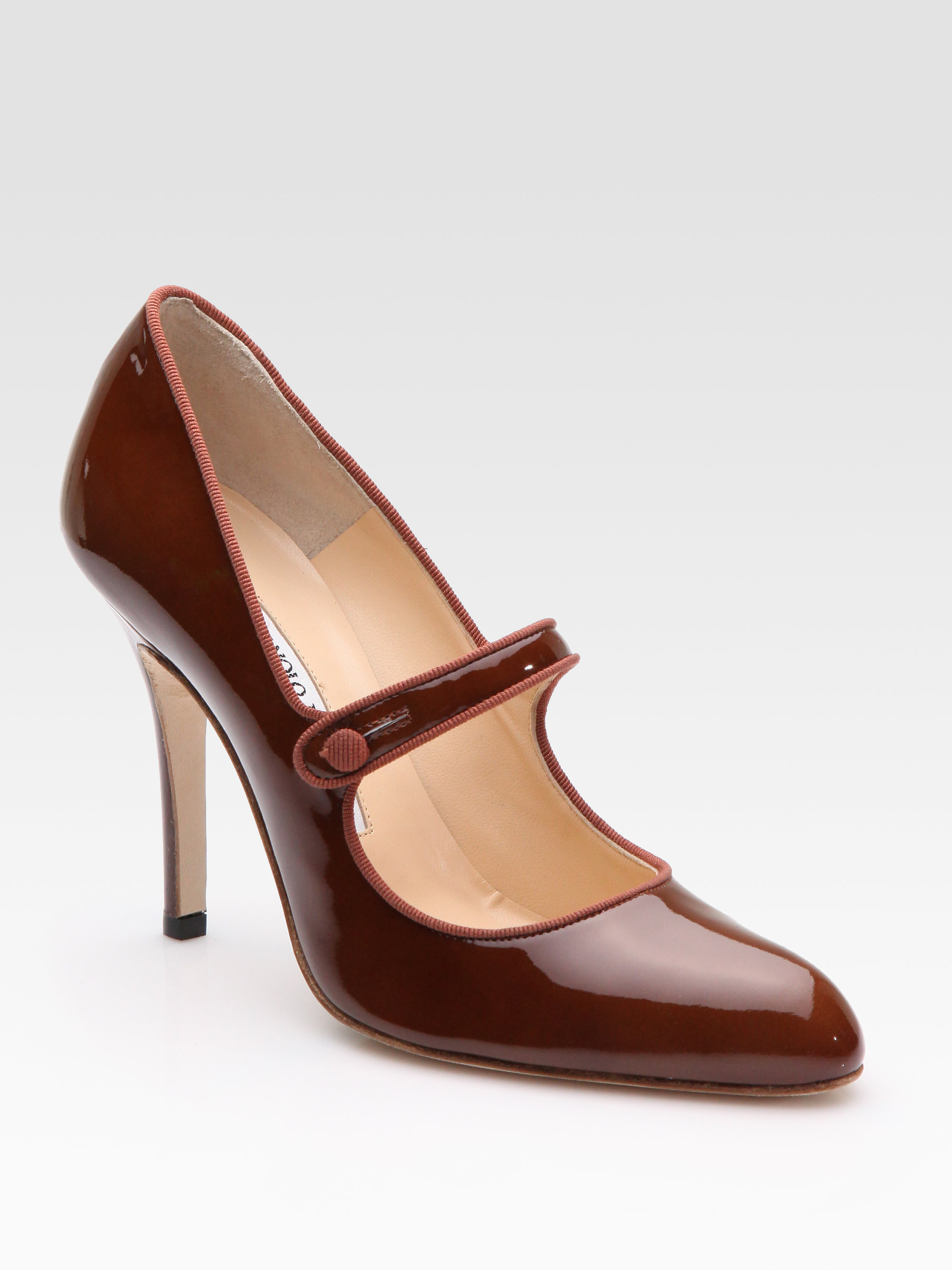 Black Mary Jane Shoes With Small Heel