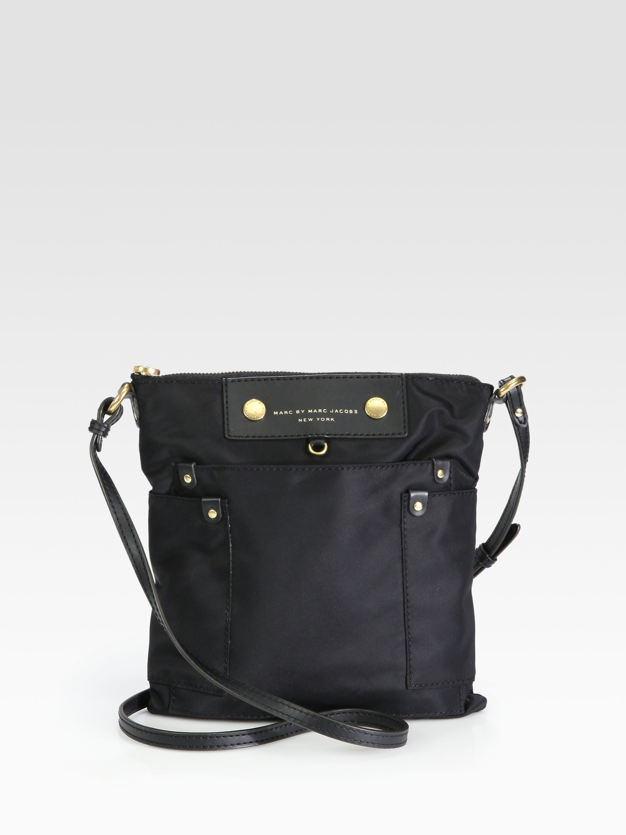 Marc By Marc Jacobs Preppy Nylon Sia Crossbody Bag in Black - Lyst 9dfd565105c5
