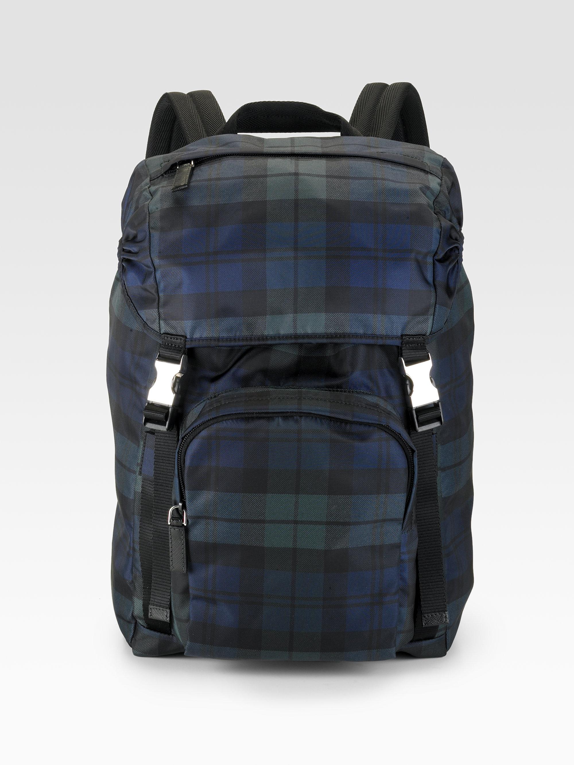 prada cloth backpack