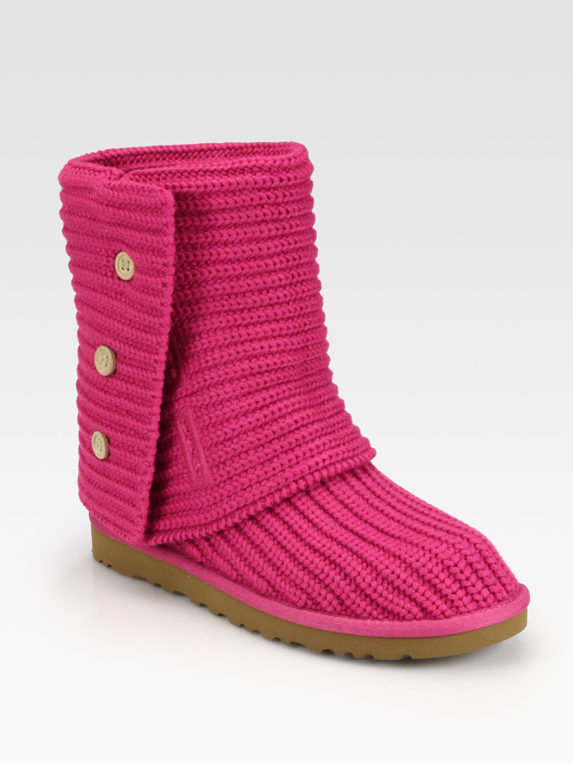 677d0f318ae UGG Pink Classic Cardy Boots