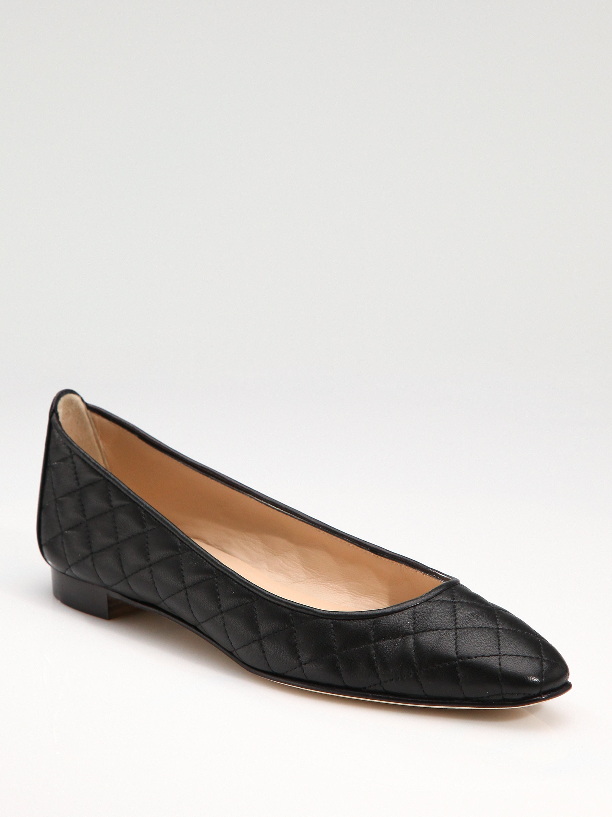 buy cheap Inexpensive Manolo Blahnik Quilted Suede Flats footlocker pictures for sale cheap sale discount 174tdYs5Eh