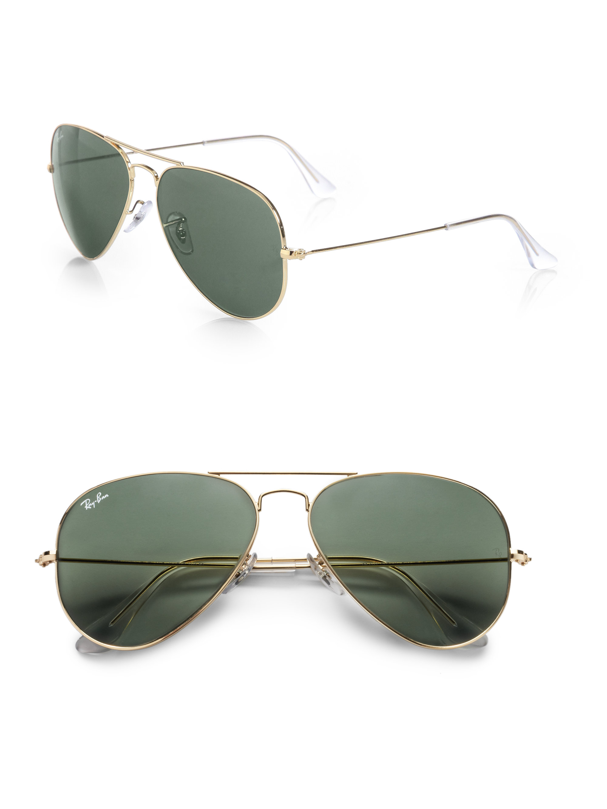 Ray-ban Original Aviator Sunglasses in Gold for Men
