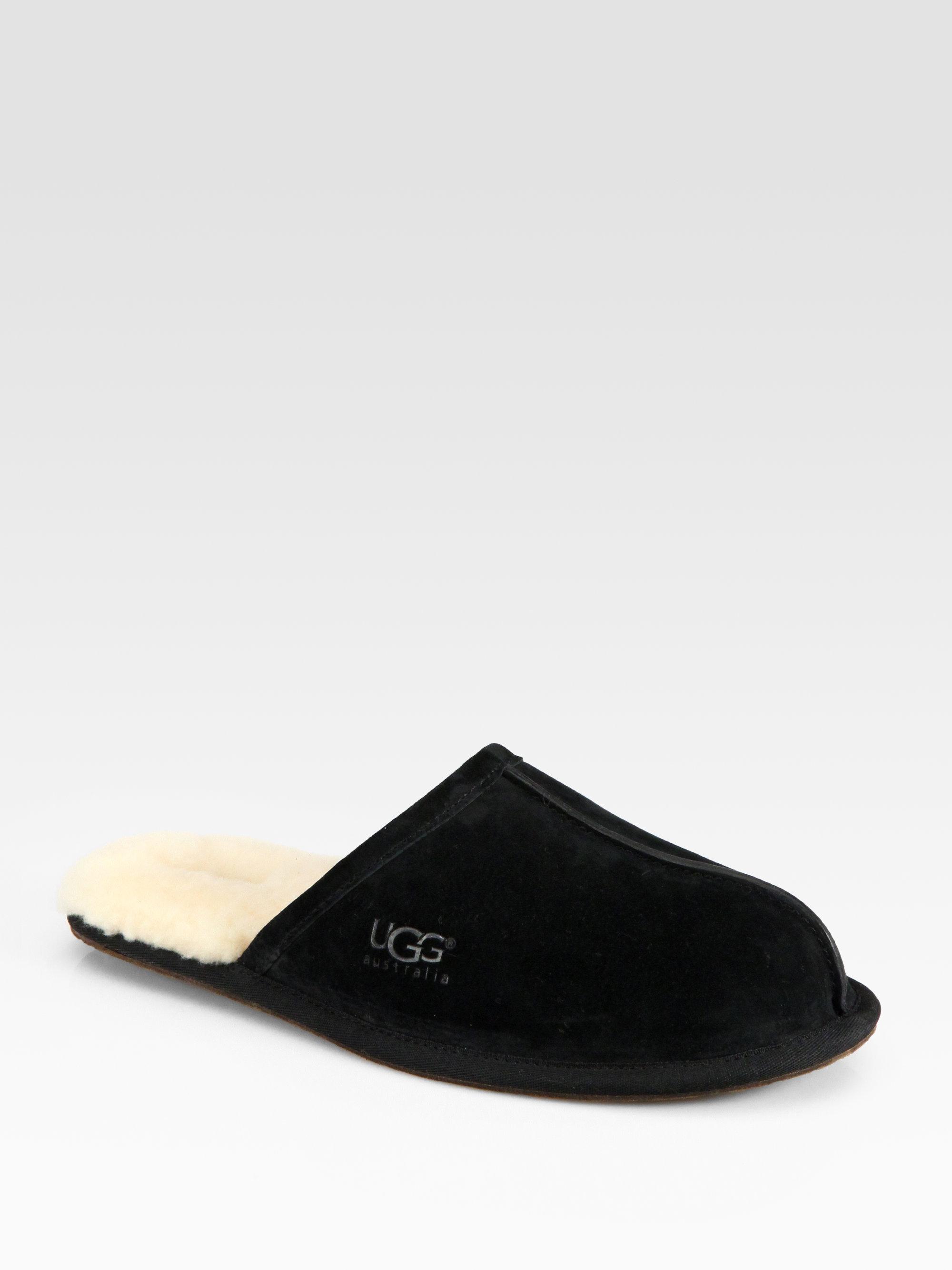 b88404bb5e2 Mens Black Ugg Slippers - cheap watches mgc-gas.com