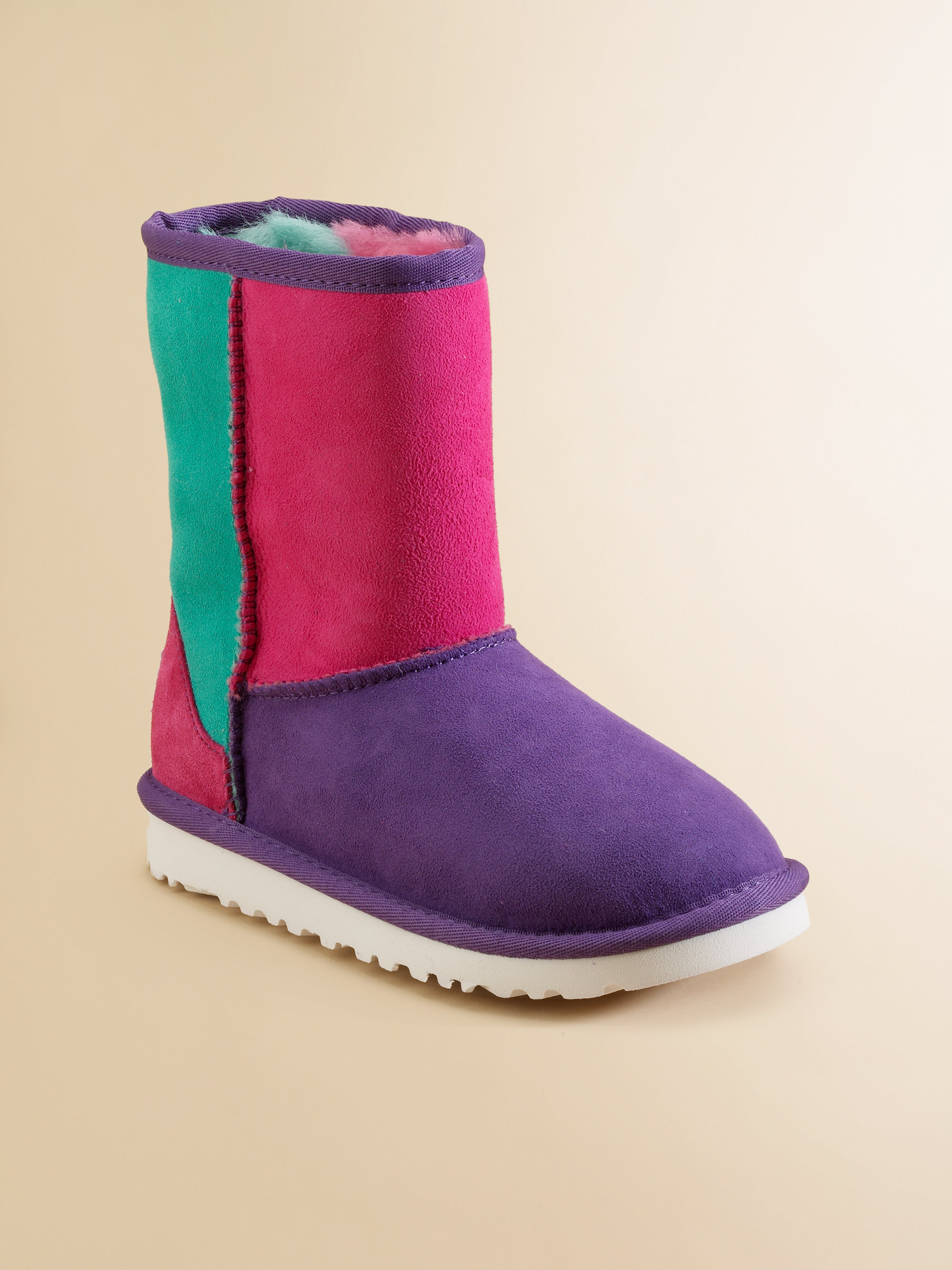 d830dfe9cbe Lyst - UGG Infants Toddlers Kids Patchwork Celestial Boots in Purple