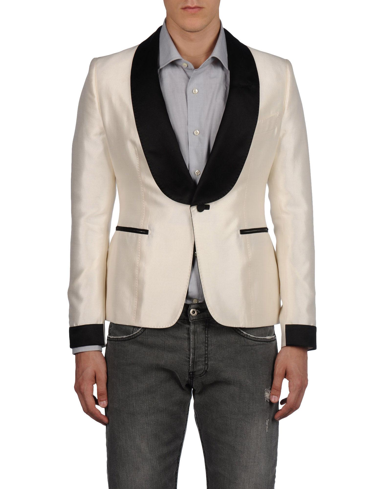 tom ford blazers in white for men ivory lyst. Black Bedroom Furniture Sets. Home Design Ideas
