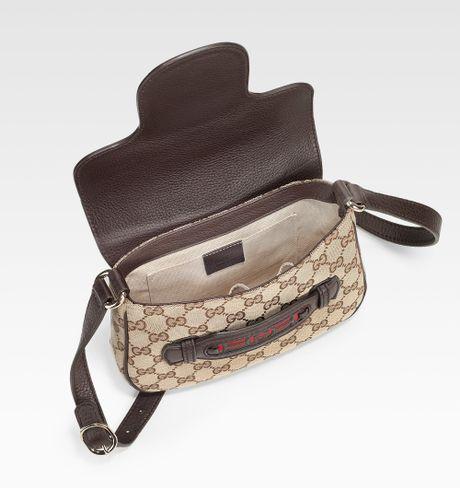 Gucci Dressage Gg Flap Shoulder Bag Medium 57