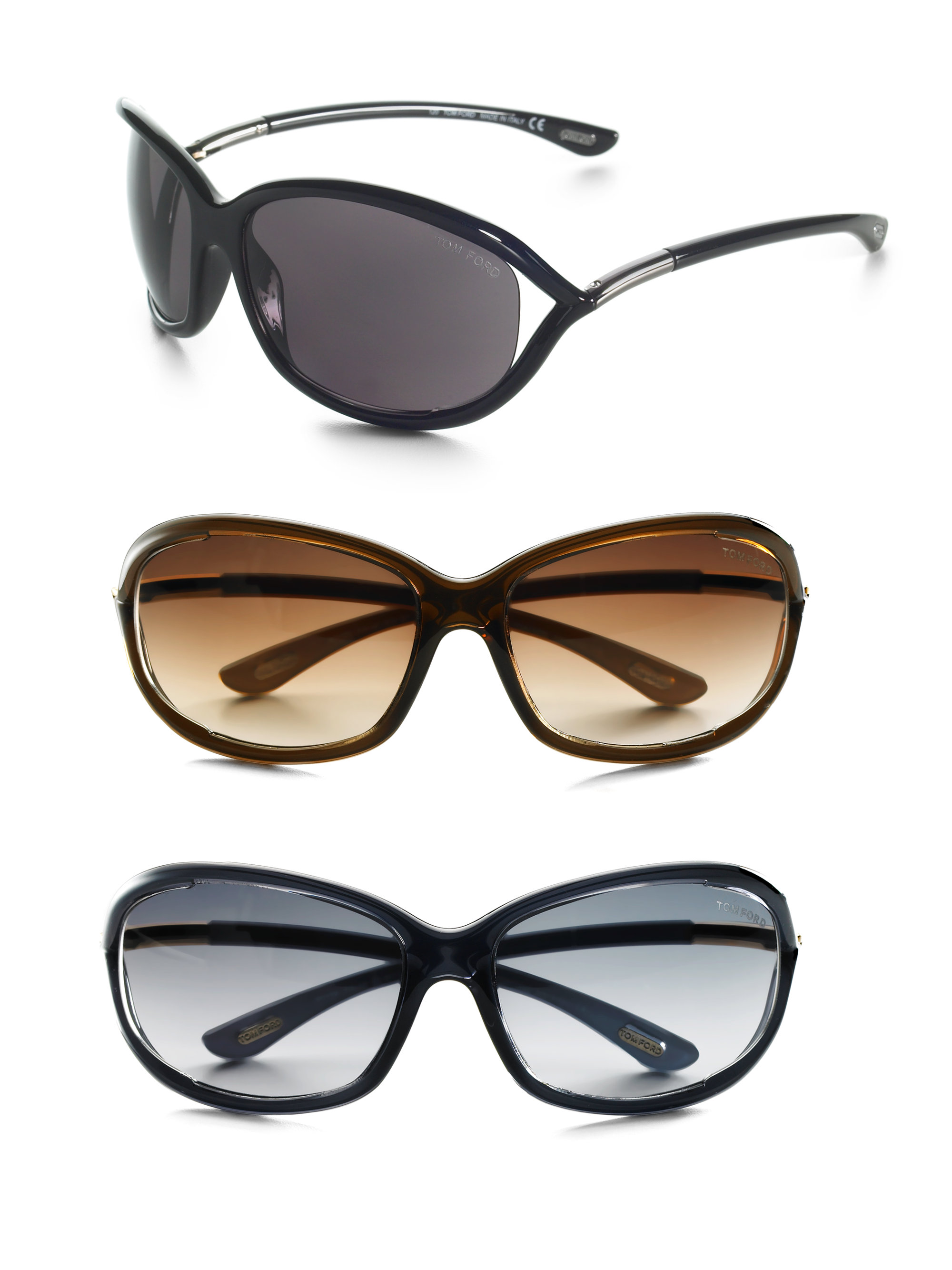tom ford jennifer 61mm rectangular sunglasses in brown dark brown. Cars Review. Best American Auto & Cars Review