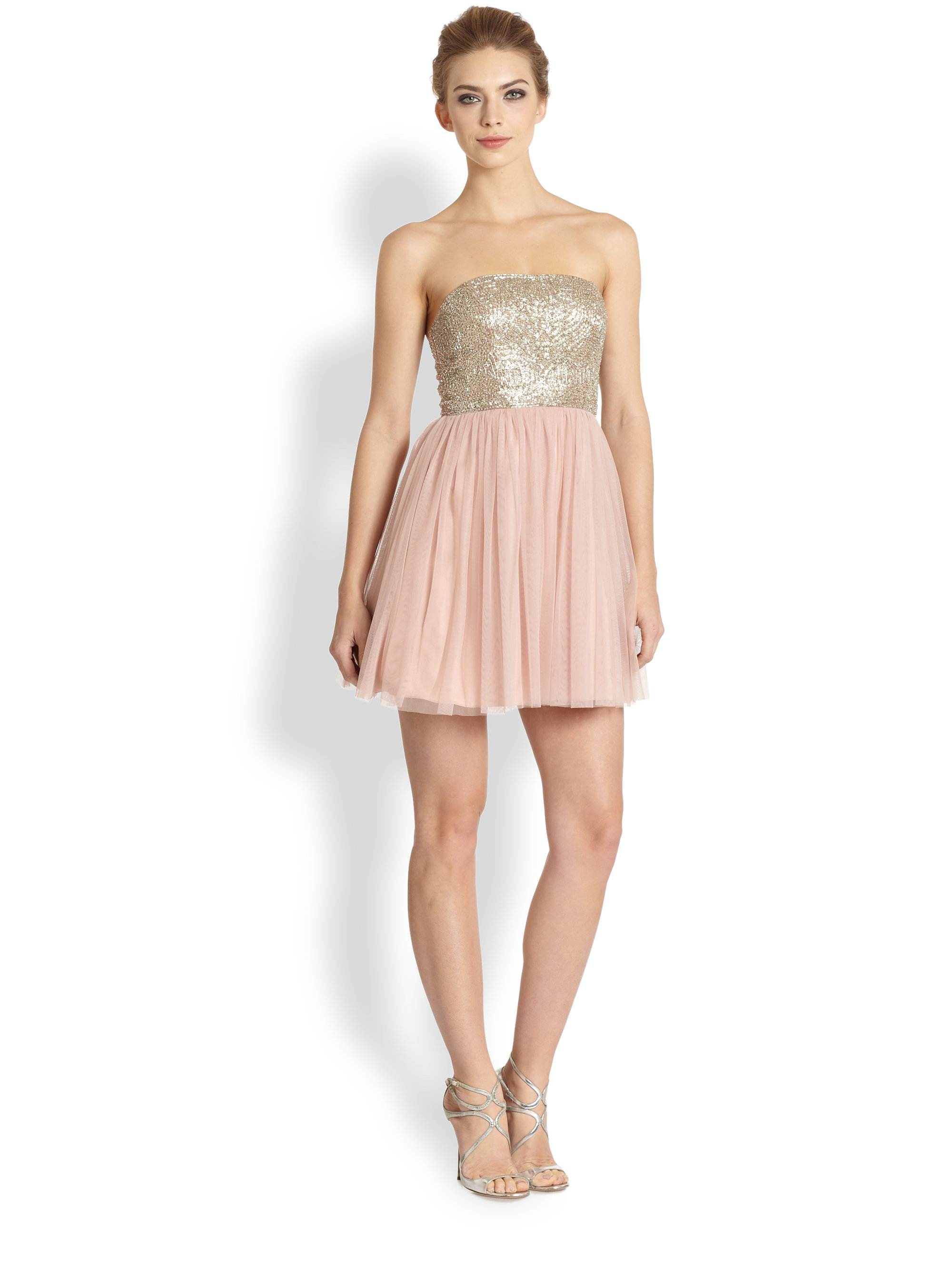 Aidan Mattox Tulle Gown – fashion dresses