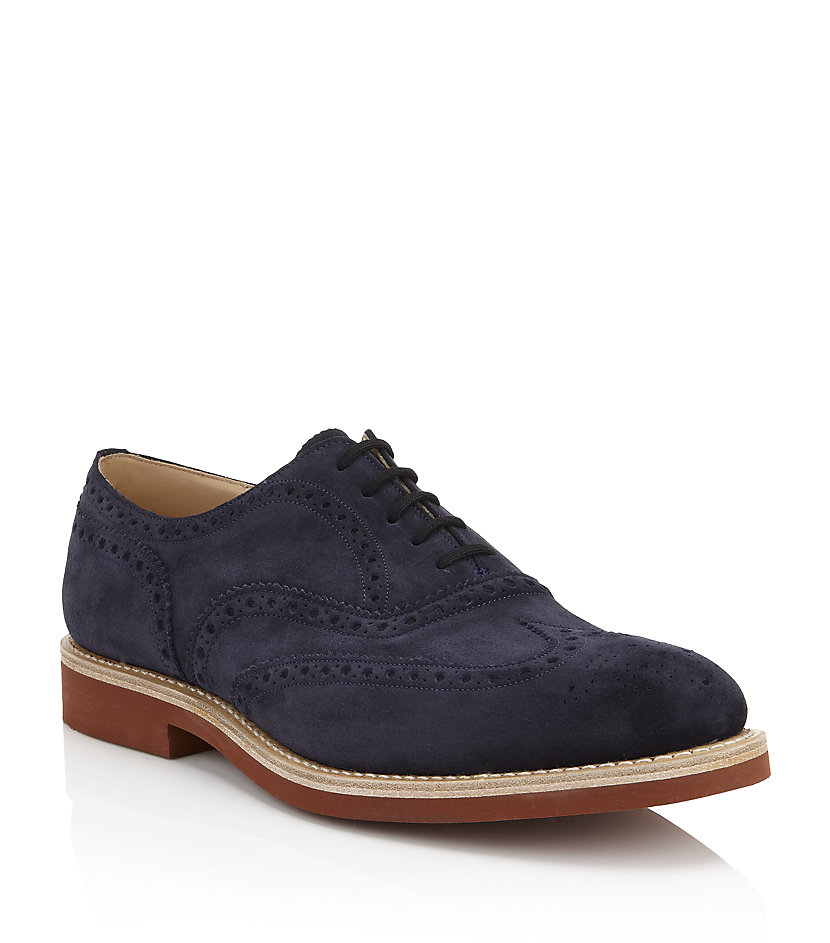 Church Blue Suede Shoes
