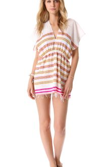 Lemlem Adersh Tunic Cover Up - Lyst