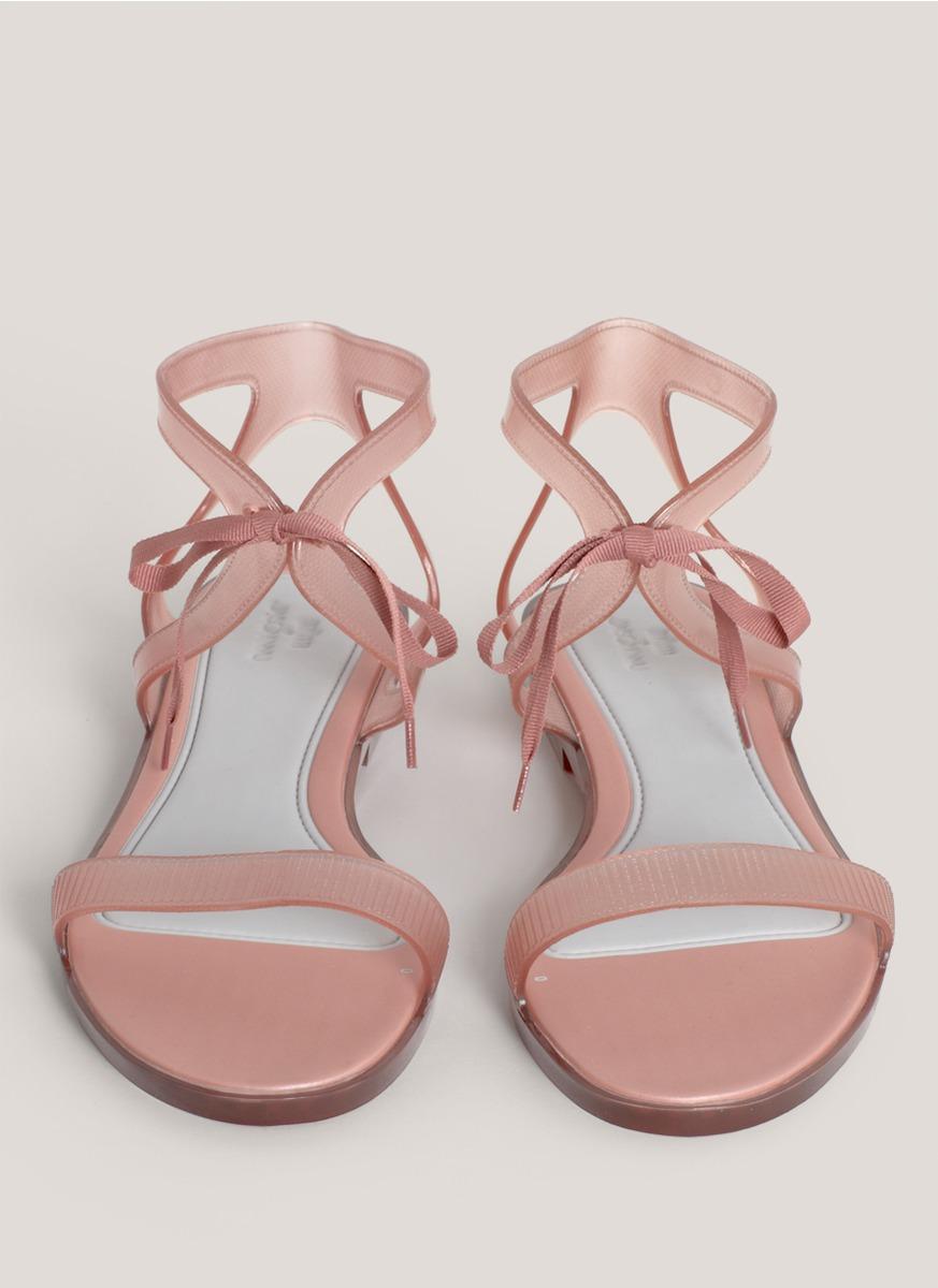 Lyst Melissa Artemis Flat Sandals In Pink