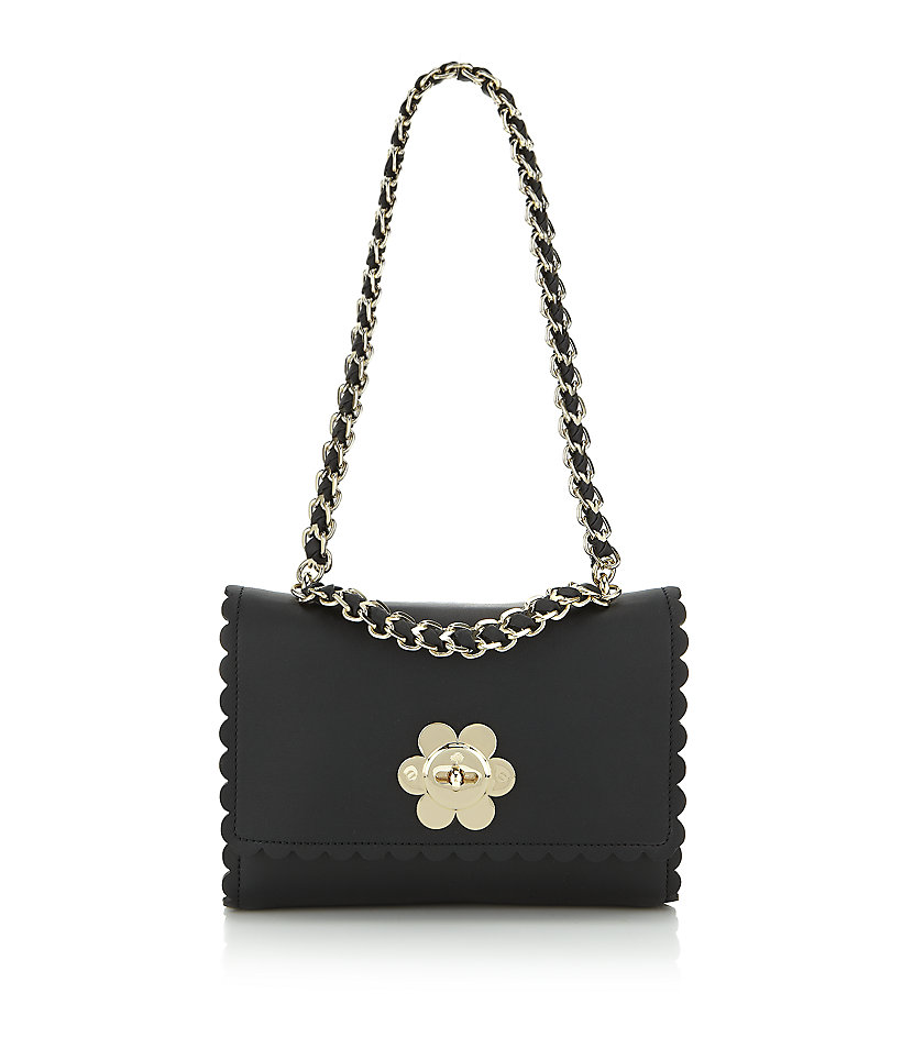 ... discount lyst mulberry cecily with flower bag in black cc7c5 63939 2e7d460635419