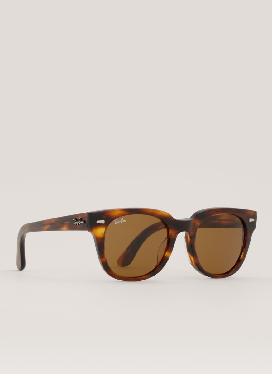 78b0ef9b00 Lyst - Ray-Ban Classic Meteor Tortoise-shell Sunglasses in Brown
