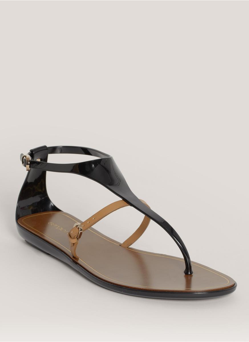Sergio Rossi Embellished thong sandals Clearance Online Ebay Genuine Sale Online Real Online Eklkcd9