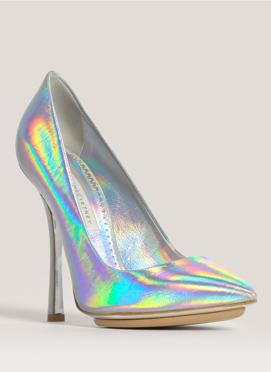 Stella McCartney Holographic Pumps