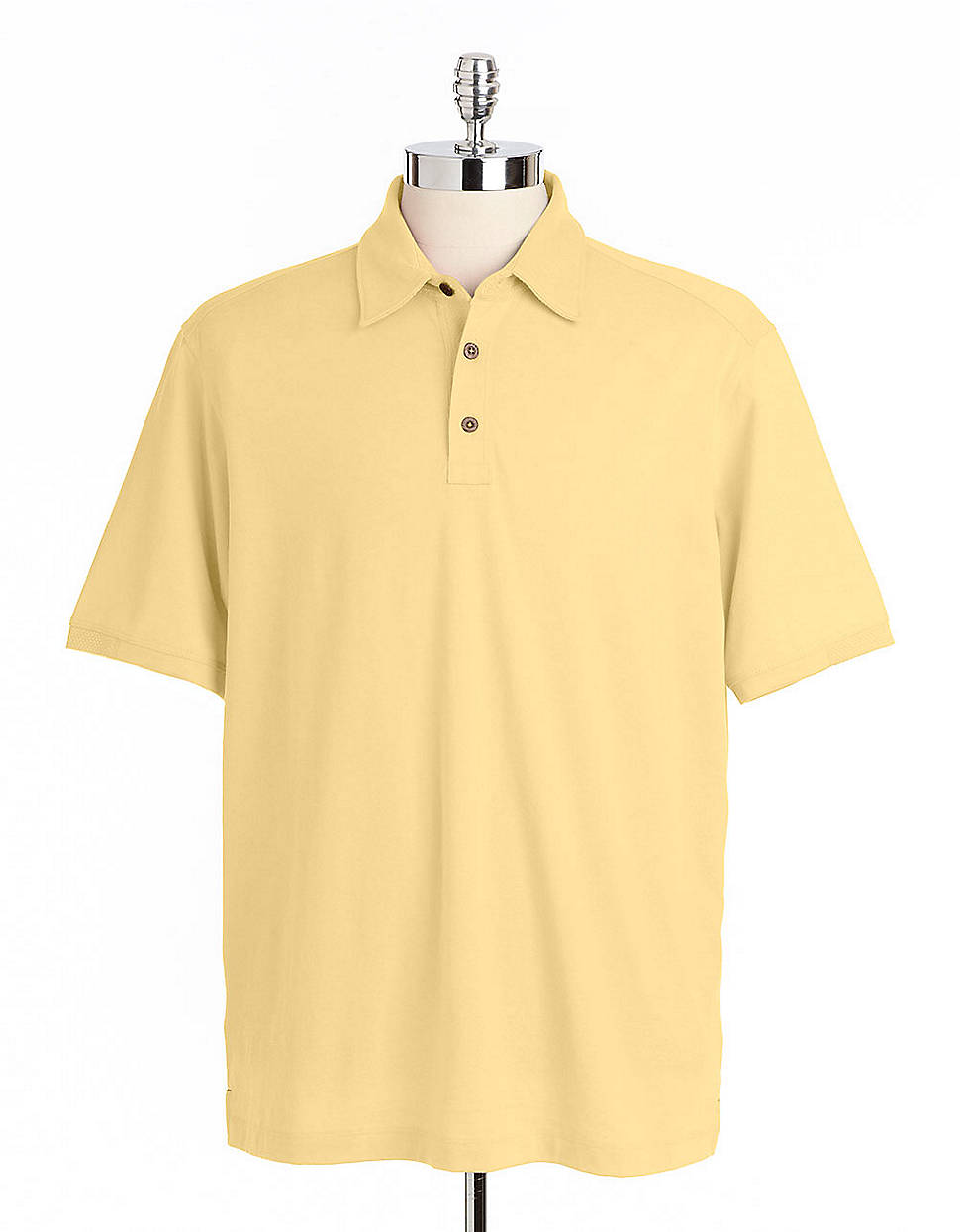 tommy bahama palm cove spectator polo shirt in yellow for