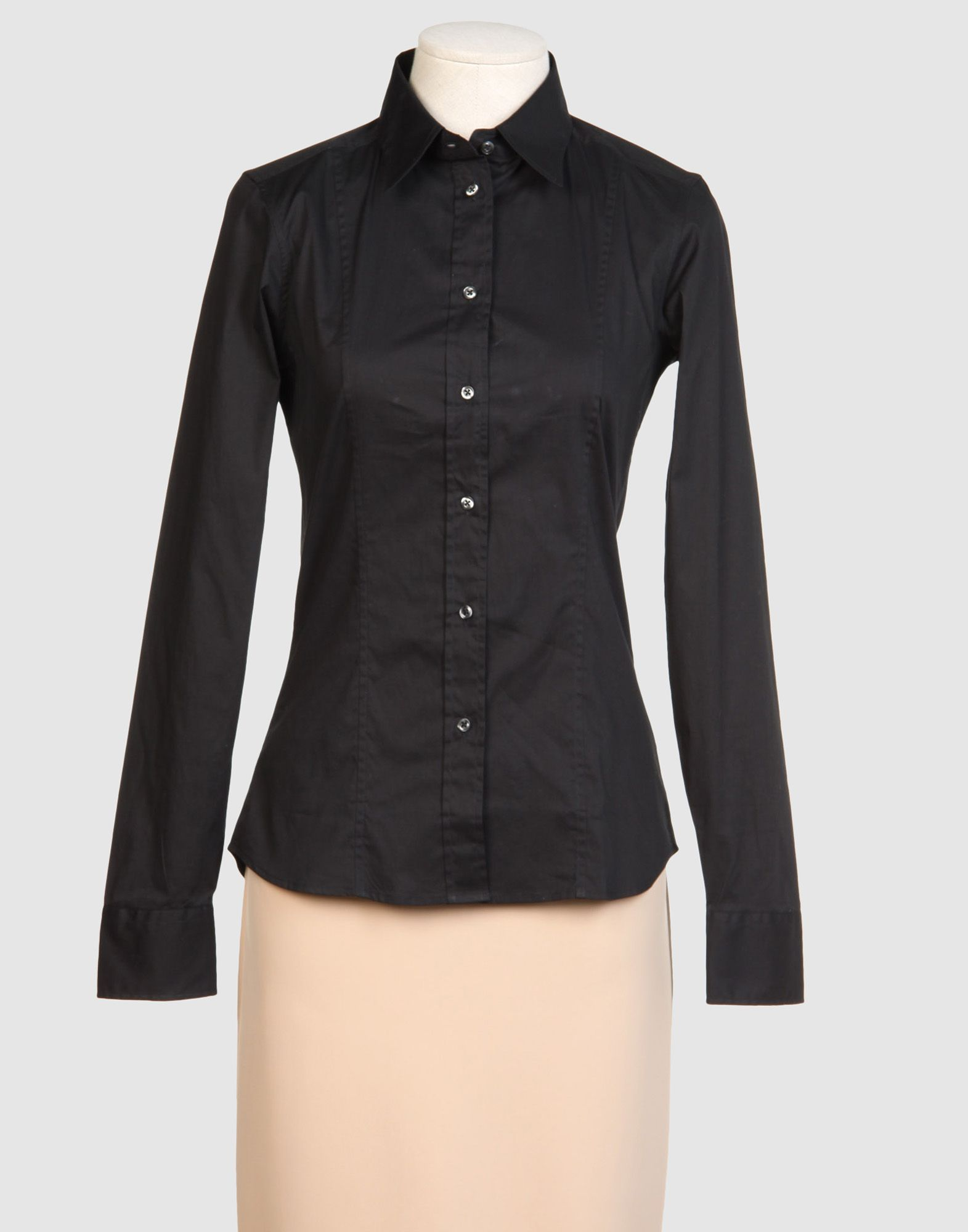 Calvin klein long sleeve shirt in black save 77 lyst for Calvin klein dress shirts sale